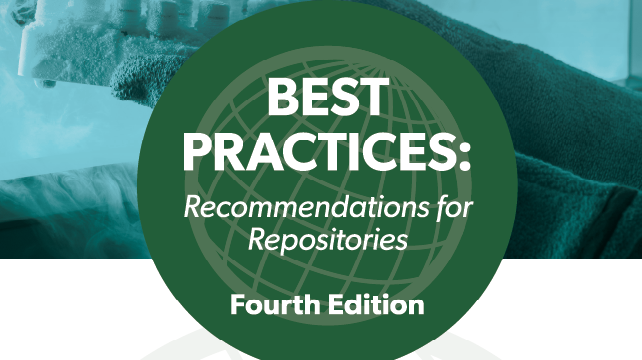 GUIDE: ISBER Best Practices: Recommendations for Repositories, Fourth Edition